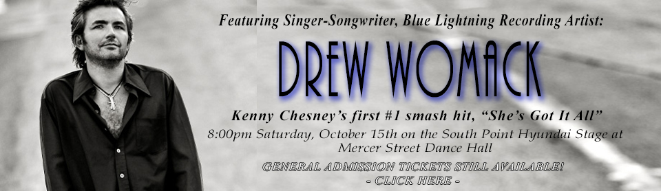Drew Womack Opener GA TICKETS