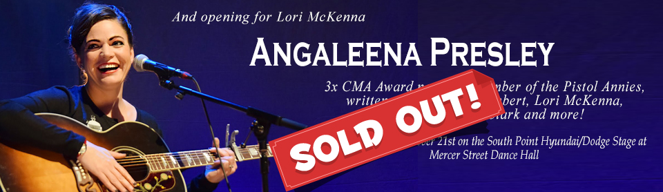 Angaleena Presley SOLD OUT